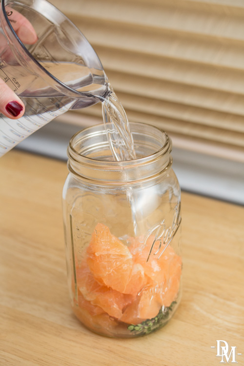 Grapefruit-Thyme Vodka