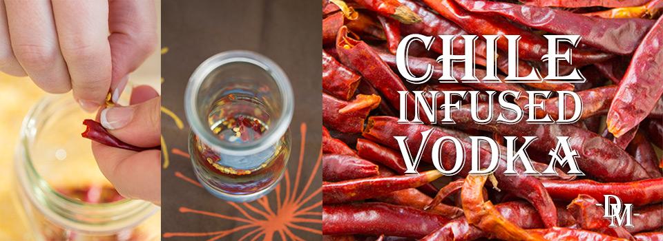 Chile-Infused Vodka
