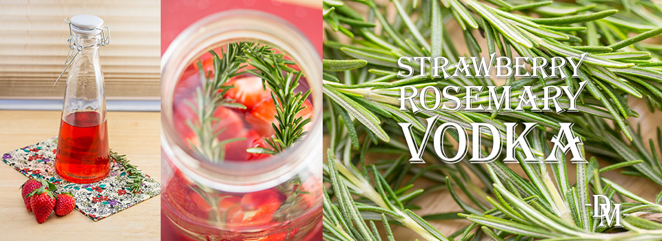 Strawberry-Rosemary Vodka